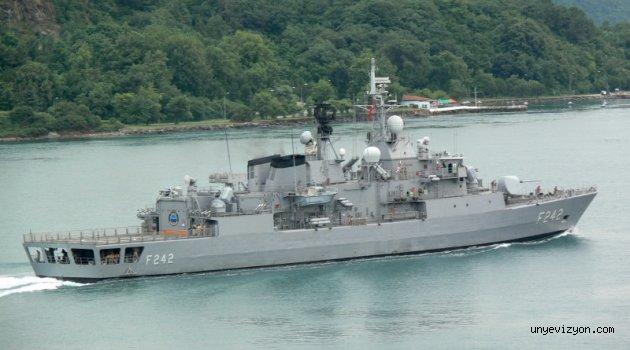TCG FATİH (F-242) Gemisi Ordu Limanı?nı Ziyaret Edecek
