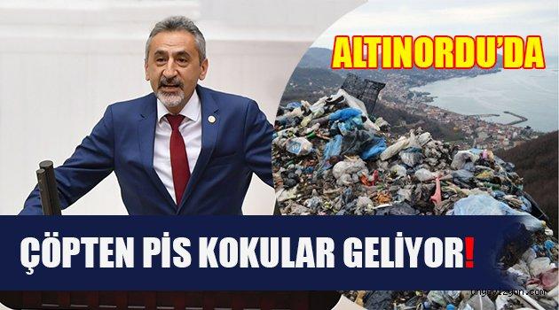 """Adıgüzel, """"Altınordu'da Çöpten Pis Kokular Geliyor"""""""