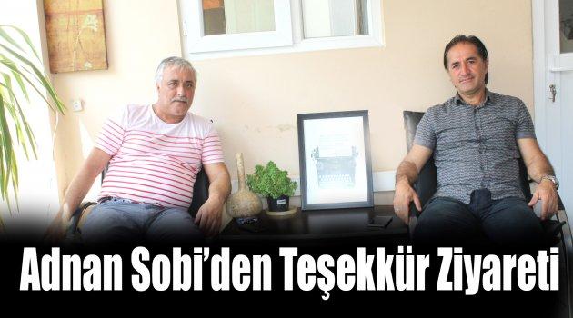Adnan Sobi'den Teşekkür Ziyareti