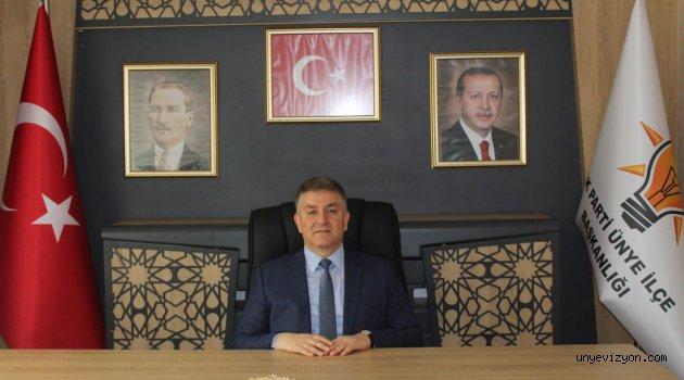 Ak Parti Ünye İlçe Başkanı Kenan Selim Argan,Miraç Kandili dolayısıyla bir mesaj yayınladı