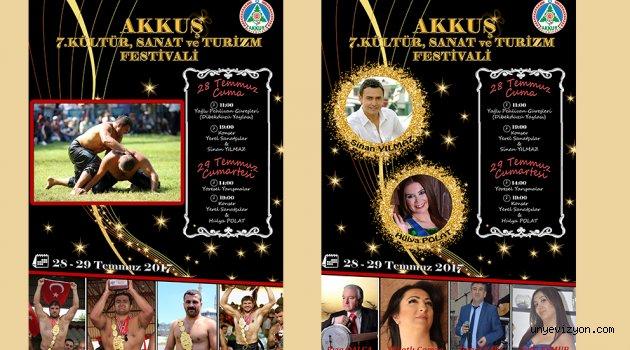 Akkuş Festivali Yarın Başlıyor