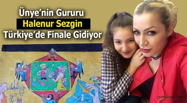Başarıya Doymayan Halenur, Türkiye Finallerinde…