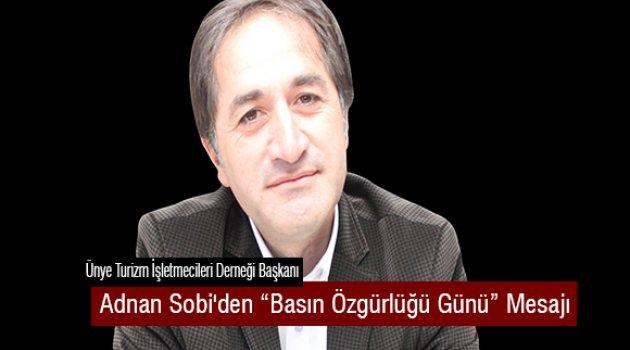 Başkan Sobi'den Basın Özgürlüğü Günü Mesajı