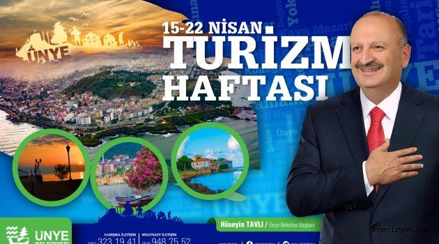 """Başkan TAVLI: """"Ünye Karadeniz Bölgesi'nin Parlayan yıldızı Olacak"""""""