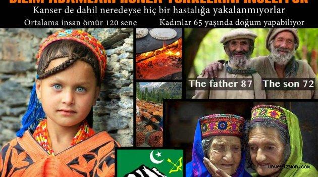 Bilim Adamları Hunza  Türkleri'ni İnceliyor