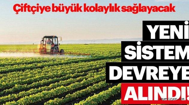 Destek başvuruları e-Çiftçi üzerinden yapılacak!