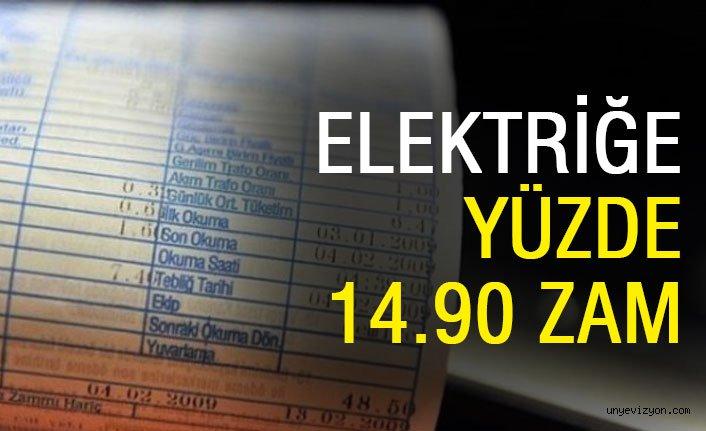 Elektriğe Yüzde 14.90 Zam Geldi!!
