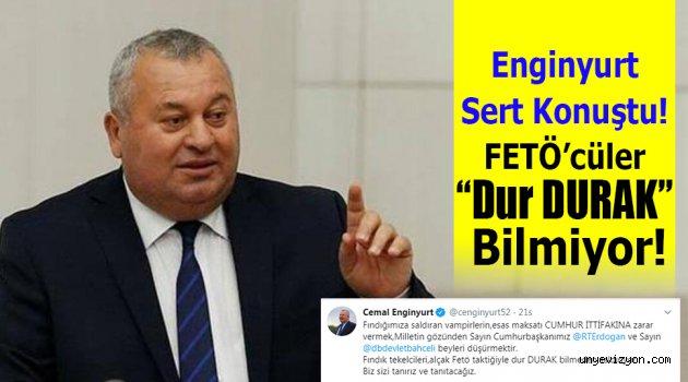 """Enginyurt Sert Konuştu! FETÖ'cüler """"Dur DURAK"""" Bilmiyor!"""