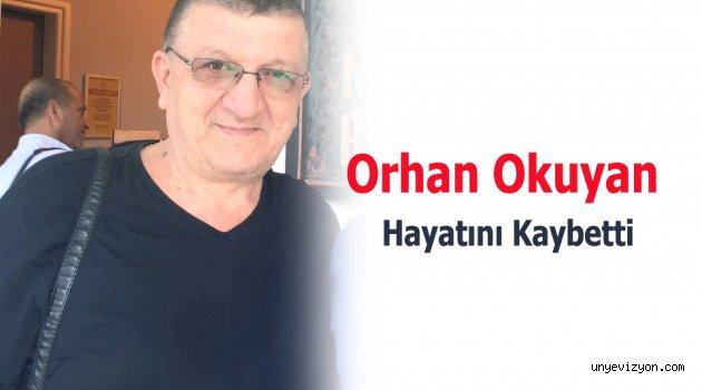 Gıda maddeleri Başkanı Orhan Okuyan Hayatını Kaybetti