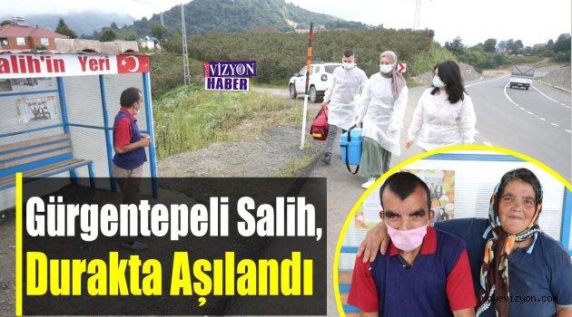 Gürgentepeli Salih, Mekanı Olan Durakta Aşılandı