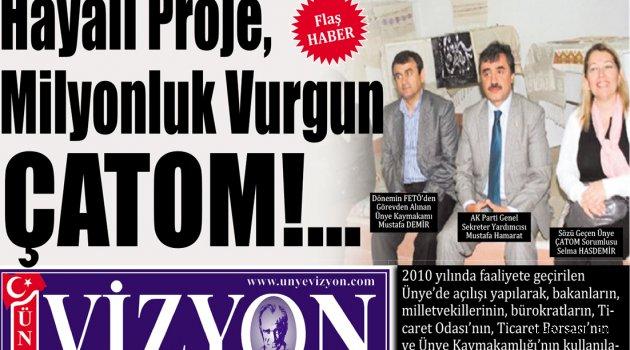 Hayali Proje, Milyonluk Vurgun ÇATOM!..