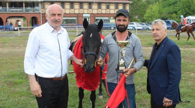 Ünye'de Şenlik Havasında At Yarışı