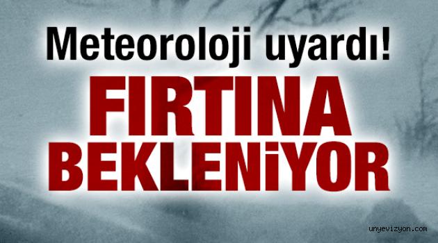 Meteoroloji Uyardı: Dikkatli Olun!
