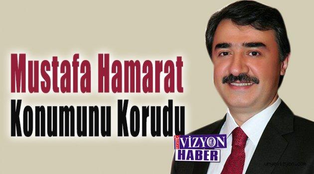 Mustafa Hamarat Konumunu Korudu