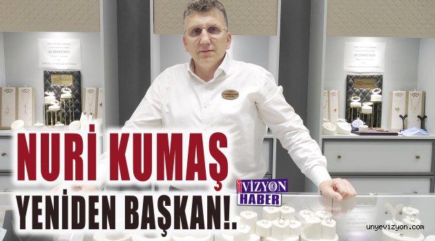 NURİ KUMAŞ YENİDEN BAŞKAN!.