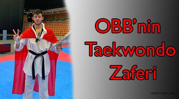 OBB'nin Taekwondo Zaferi