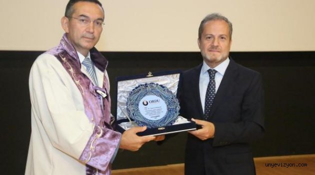 ODÜ'de Rektörlük Devir Teslim Töreni