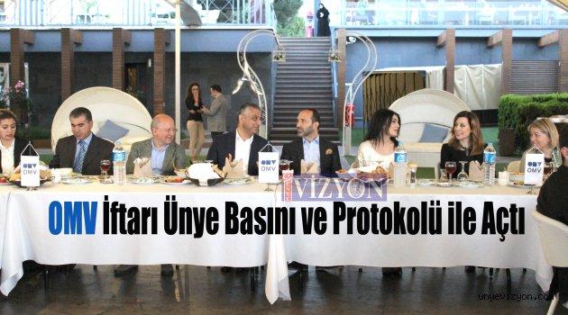 OMV İftarı Ünye Basını ve Protokolü ile Açtı