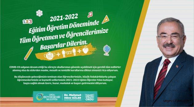 Ordu Büyükşehir Belediyesi 2021 - 2022 Eğitim Öğretim Dönemi