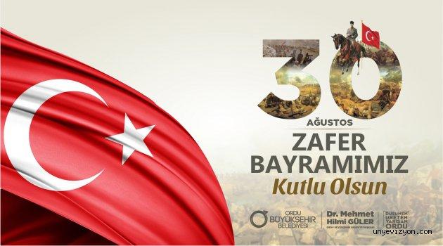Ordu Büyükşehir Belediyesi 30 Ağustos Zafer Bayramı Kutlama
