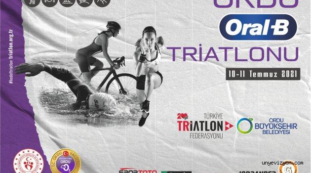 """Ordu Büyükşehir Belediyesi """"Ordu Triatlon Yarışları"""" Başlıyor"""