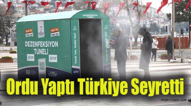 Ordu Yaptı Türkiye Seyretti