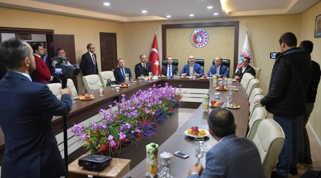 OSB Heyeti İlk  Toplantısını Yaptı