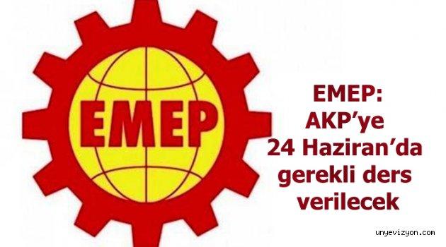 "Poyraz:""AKP'ye 24 Haziran'da gerekli ders verilecek."""
