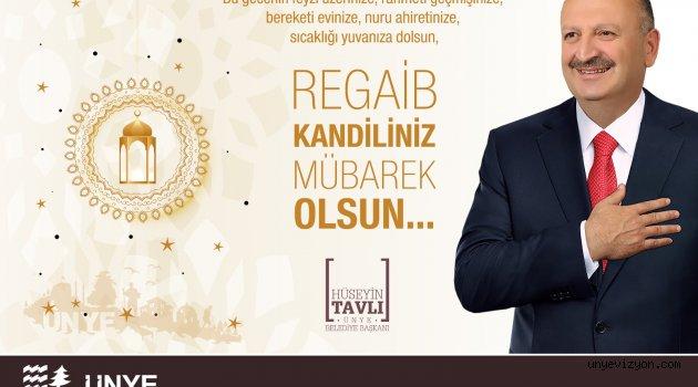 """""""Regaib Kandili, rahmet gecesidir"""""""