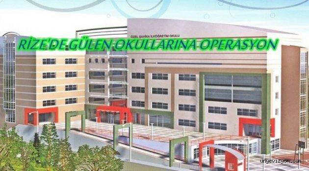 Rize Merkezli Gülen Cemaatine Yönelik Operasyon