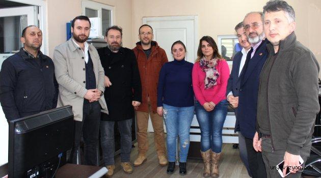 Saadet Partisinden Anlamlı Ziyaret
