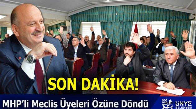 SON DAKİKA!: MHP'li Meclis Üyeleri Özüne Döndü