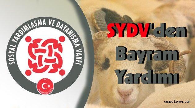 SYDV'den Bayram Yardımı