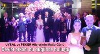Uysal ve Peker Ailelerden Yılın Düğünü