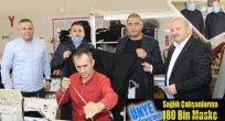 Ünye Belediyesi'den Sağlık Çalışanlarına 180 Bin Maske Önlük Desteği