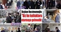 """Başkan Hacıimamoğlu: """"Biz bu koltuklara oturmaya gelmedik!"""""""