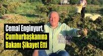 Cemal Enginyurt, Cumhurbaşkanına Bakanı Şikayet Etti