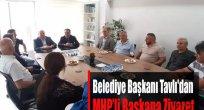 Belediye Başkanı Tavlı'dan MHP'ye Ziyaret