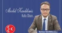 MHP Ünye İlçe Başkanı Murtaza Hacıimamoğlu Kandil Kutlaması