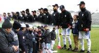 Futbolculardan Duygulandıran Hareket