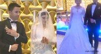 Büşra Ocak ve Hasan Kisbet Görkemli Törenle Evlendiler