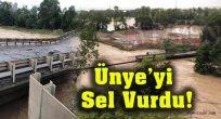 Ünye'de Felaket! Köprüler Yıkıldı