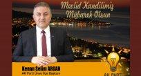 Ak Parti Ünye İlçe Başkanı Kenan Selim Argan Kandil Kutlaması