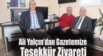 Ali Yalçın'dan Gazetemize Teşekkür Ziyareti