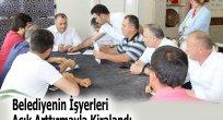 Belediyenin İşyerleri Açık Arttırmayla Kiralandı