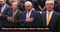 Binali Yıldırım AK Parti'nin Başbakan Adayı Oldu