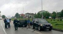 Çarşamba'da Trafik Kazası: 4 Yaralı