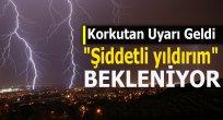 """Karadeniz bölgesine """"Şiddetli yıldırım"""" uyarısı"""