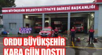ORDU BÜYÜKŞEHİR  ARTVİN'E DESTEK GÖNDERDİ