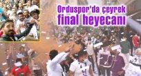 Orduspor'da çeyrek final heyecanı